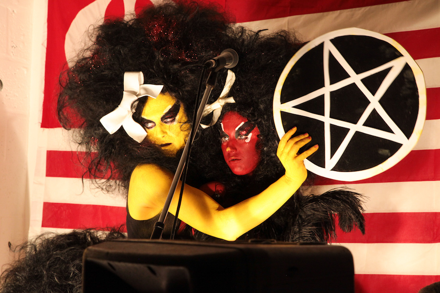 Kembra Pfahler - Courtesy of the artist and Emalin. Photography by Manuela Barczewski