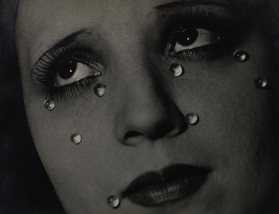 Man Ray 1890-1976Glass Tears (Les Larmes) 1932Photograph, gelatin silver print on paper229 x 298 mmCollection Elton John© Man Ray Trust/ADAGP, Paris and DACS, London 2016.