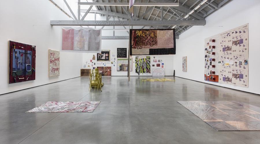 Adriano Costa, DearMeatCutsDevilMayCry -  David Kordansky Gallery, Los Angeles - Installation view