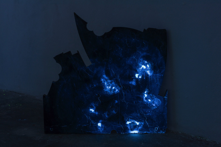 Yari Miele,   Blue Night Marble,   MARS,   ph. Cosimo Filippini