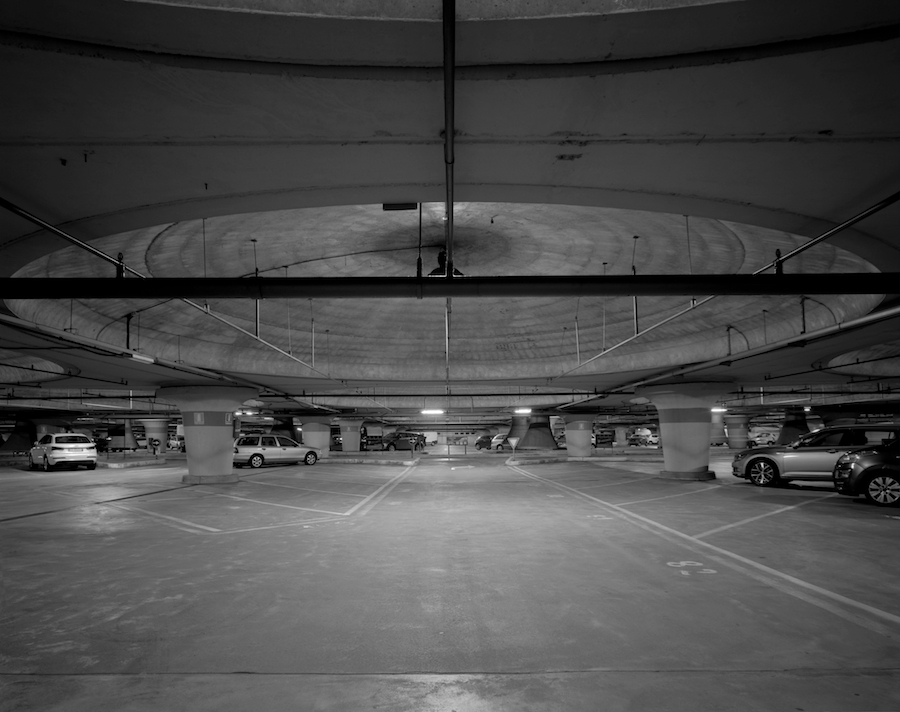 Francesco Fonassi Ultradiana,   2016 Recording location,   Villa Borghese underground parking lot,   Roma. Photo credits Francesco Demichelis