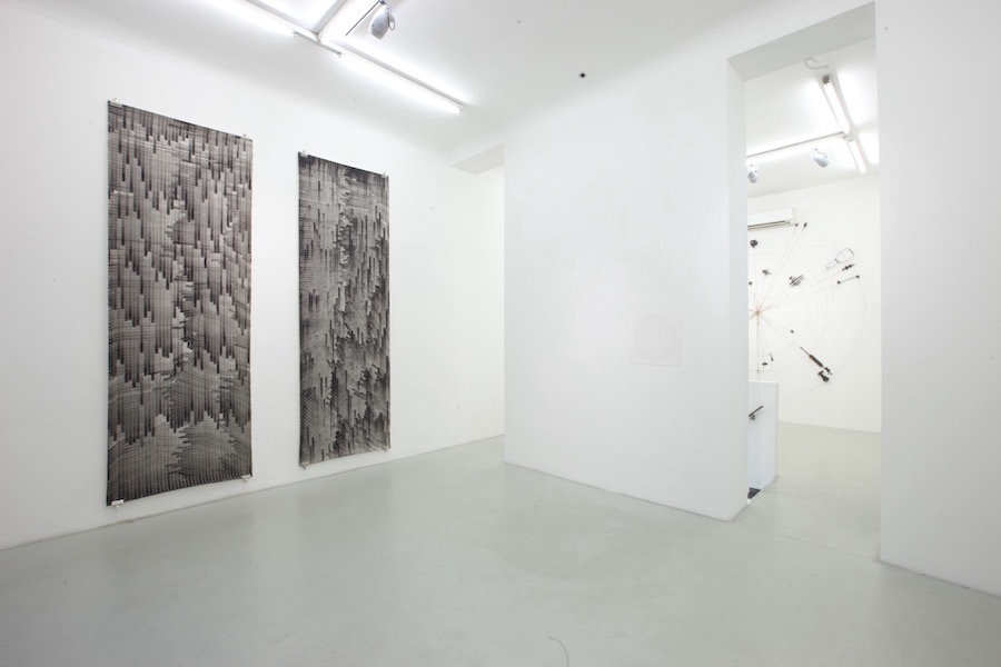 Sophie Tottie,   Photography Ends Here - installation view - Courtesy Renata Fabbri Arte Contemporanea,   Milano