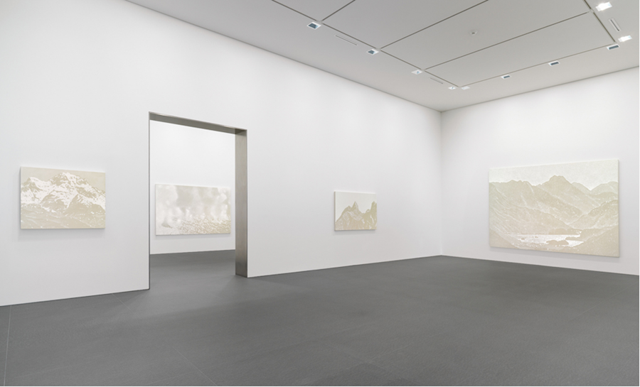 Luca Pancrazzi,   Occidente_Esotico,   Installation view  - Courtesy  Galerie Andrea Caratsch — Sant Moritz