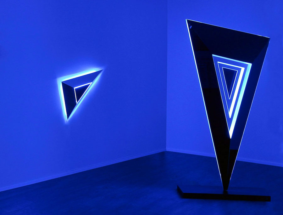 Nanda Vigo,   Lights Forever -2013,   installation view