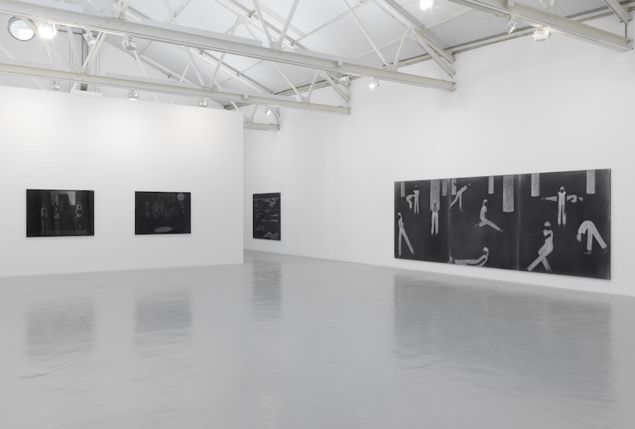 Silke Otto-Knapp,   Seascapes,   greengrassi,   London - installation view