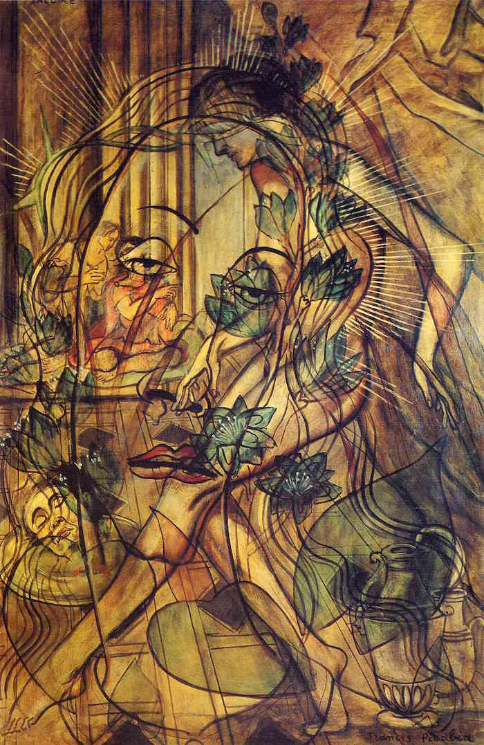 Francis Picabia Salomé, 1930 Oil on canvas, 195 × 130 cm Collection Broere Charitable Foundation