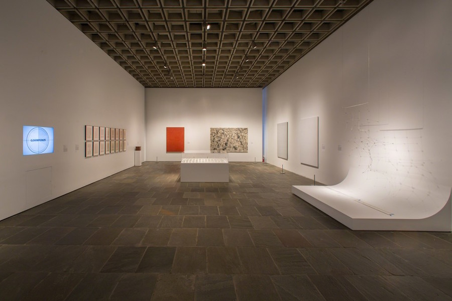 Installation view of Unfinished - Thoughts Left Visible at the Met Breuer. Photo © The Metropolitan Museum of Art 2016