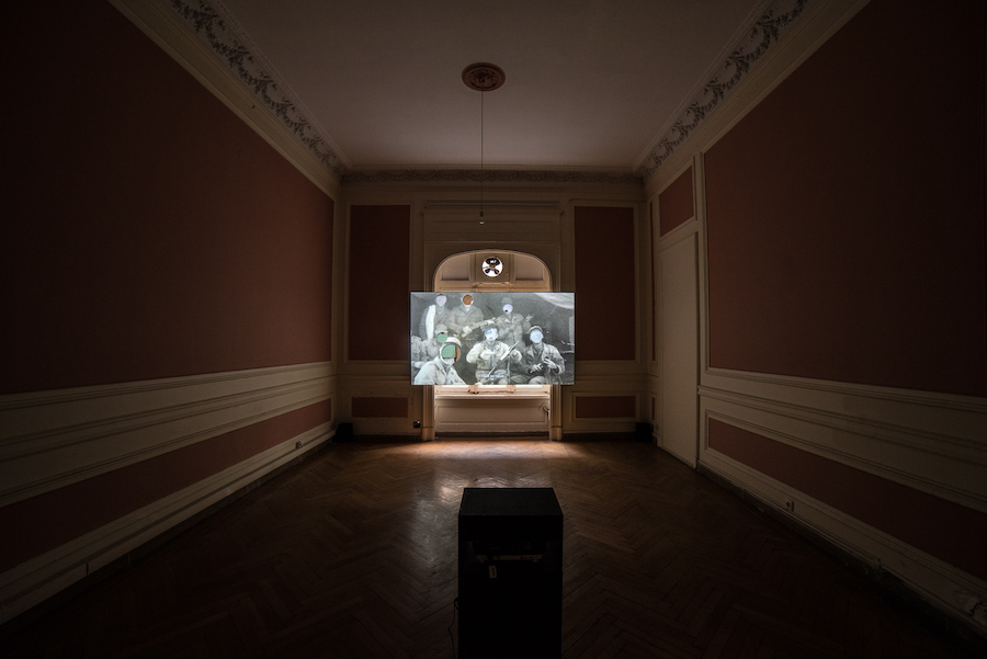 The Thickness of Time, installation view, Photo Credits Dimitris Parthimos