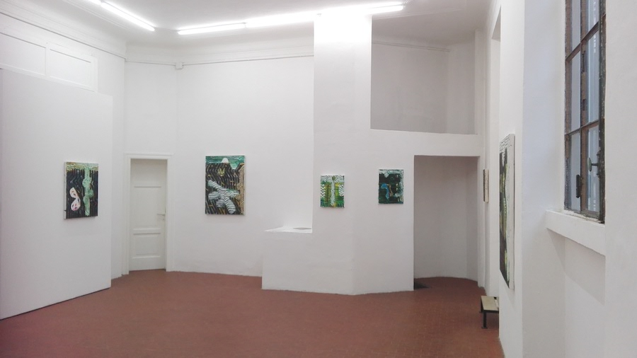 John Walker, Galleria Six, Milano - Installation view