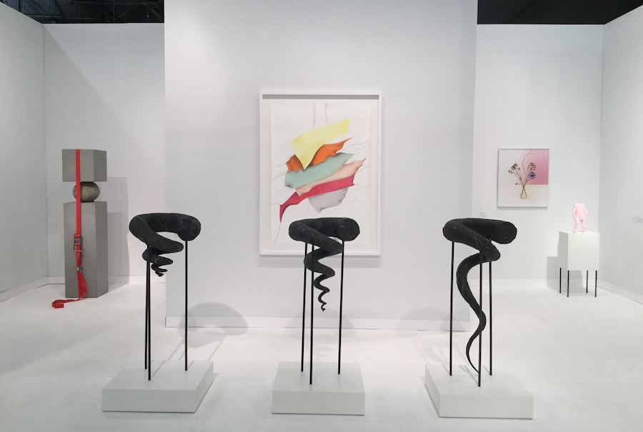 Konig Galerie, Berlin, installation view  - The Armory Show, New York