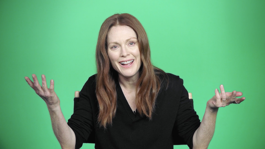 Candice Breitz, Still from Love Story, 2016 7-channel installation Julianne Moore, Courtesy of Candice Breitz and KOW, Berlin, Photo: Ladislav Zajac / KOW