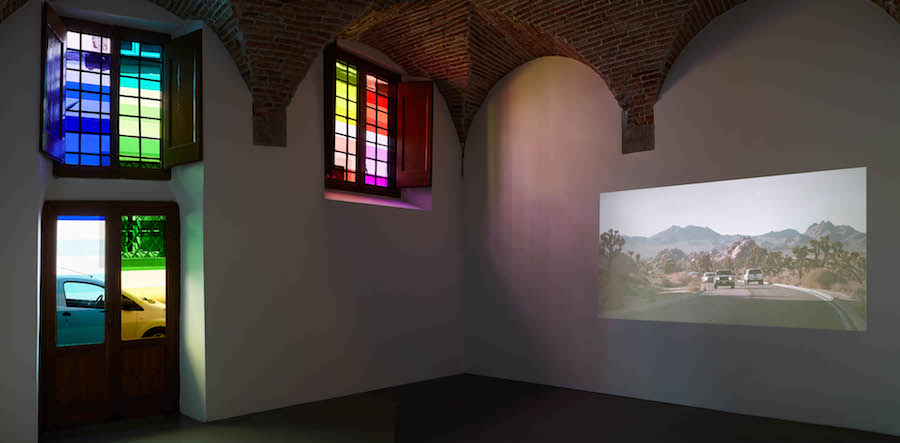 Waiting for the Sun, 2017, exhibition view - SpazioA project space, Pistoia - Photo Camilla Maria Santini