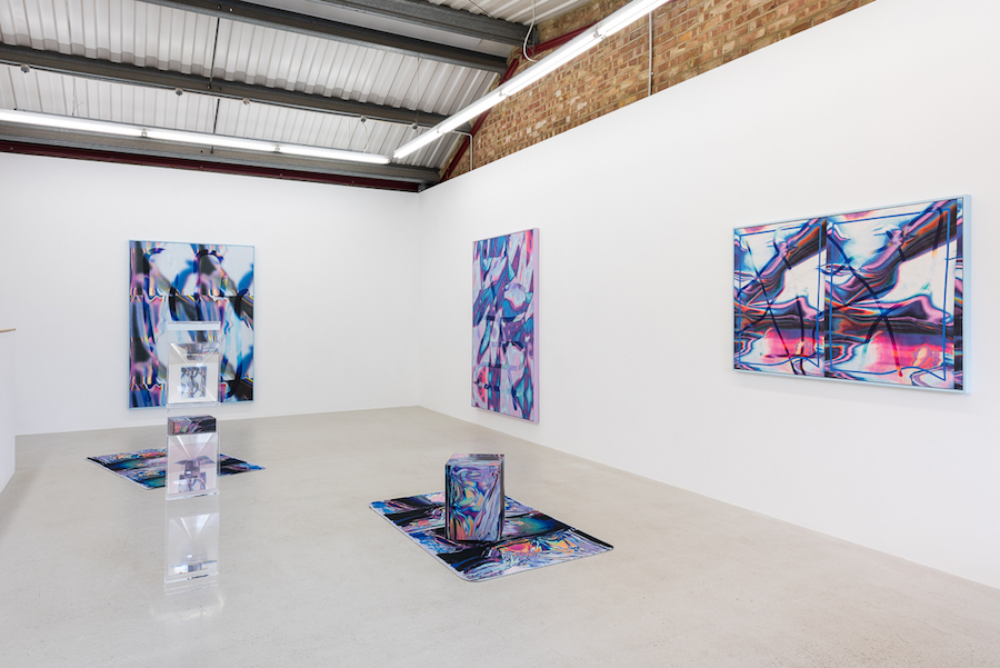 Anne Vieux, Mesh, exhibition at Annka Kultys Gallery, London - Installation views