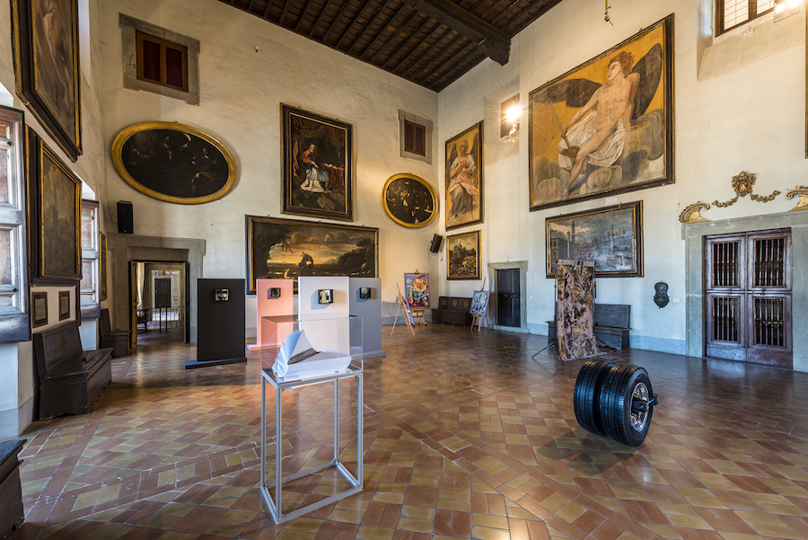 Granpalazzo 2017, Installation View Piano Nobile