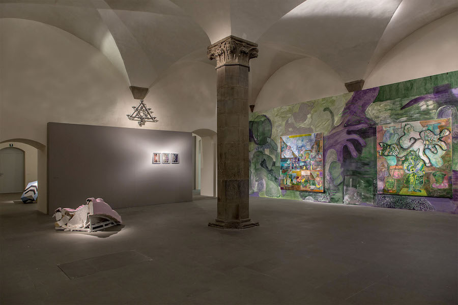 Installation view. Le Forme del Tempo / The shapes of Time. Palazzo Pretorio Museum, Prato, Italy 2017