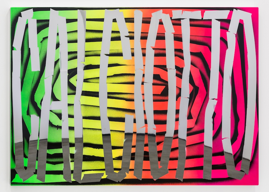 Calciotto © Eddie Peake © Galleria Lorcan O'Neill Roma (Mark Blower)