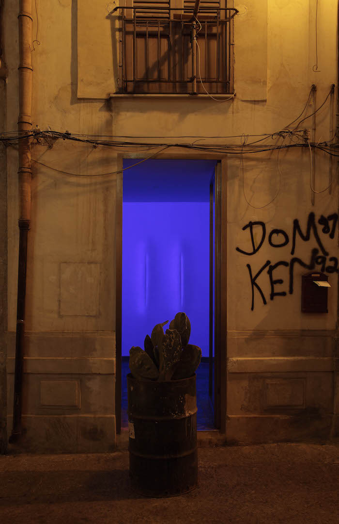Giovanni Sortino, Installation view - L'Ascensore, Palermo