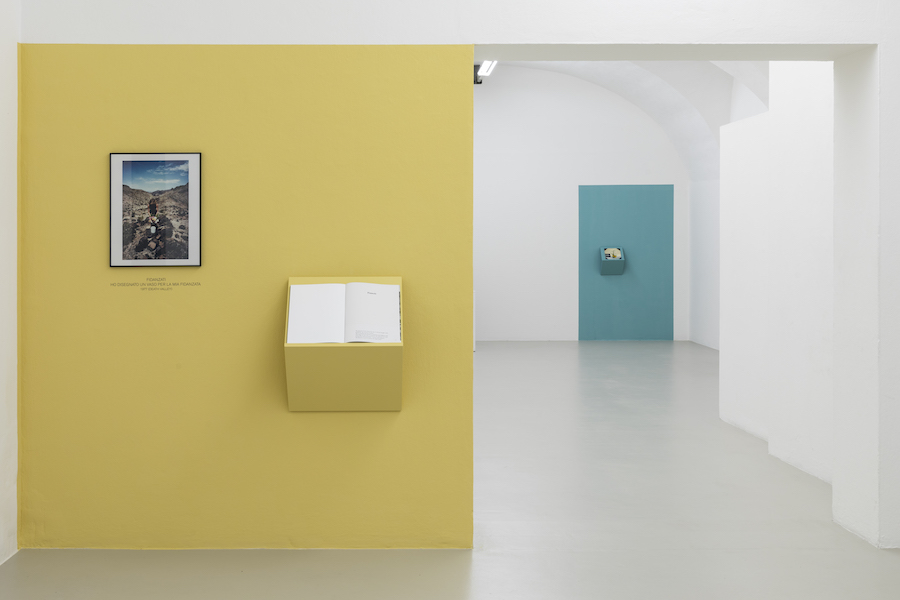 Flowers are documents -  Installation view - photo Guadagnini and Sorvillo ©argekunst