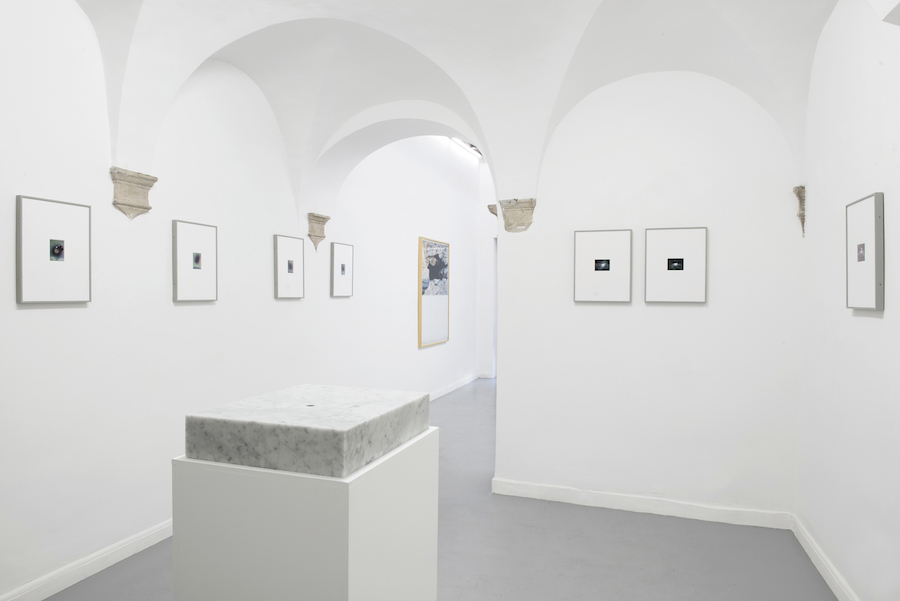 Alessandro Dandini de Sylva, Vuoti e Bruciature, 2017, installation view at Operativa Arte Contemporanea, Roma - Photo credits © Alessandro Dandini de Sylva - Courtesy the artist and Operativa Arte Contemporanea, Roma