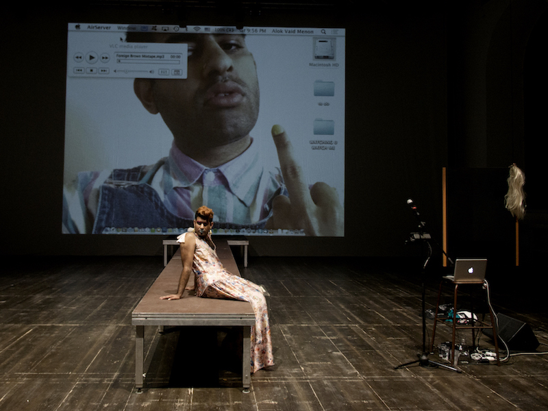 Alok Vaid-Menon, Watching you / Watch me - LIVE WORKS - Performance Act Award - Vol. 5, Centrale Fies - Ph. Alessandro Sala