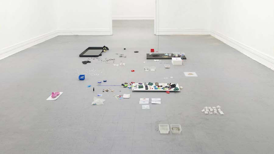 Luca Vanello, Revision of an Act, 2014, installation view