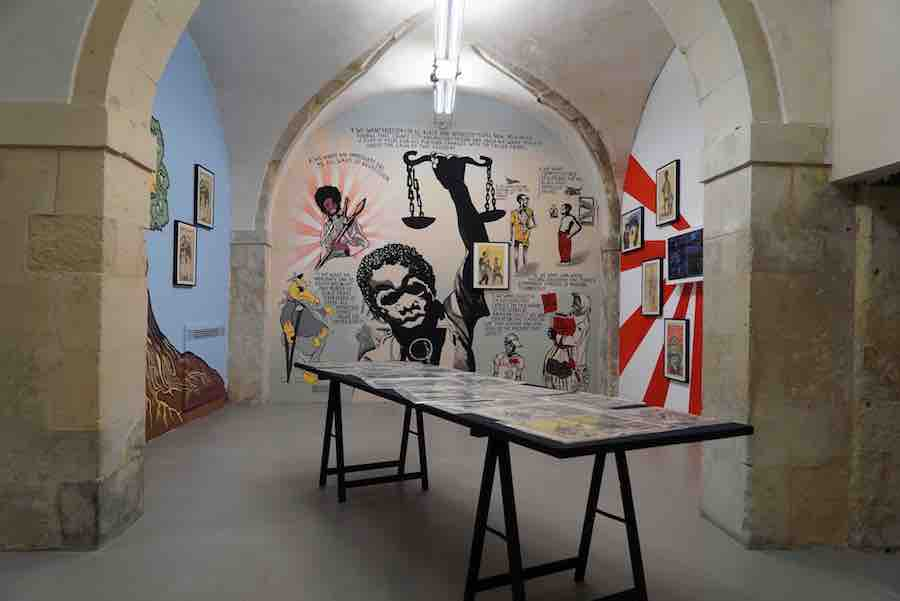 Freedom Is A Constant Struggle, 2017 - exhibition view at Laveronica arte contemporanea, Modica