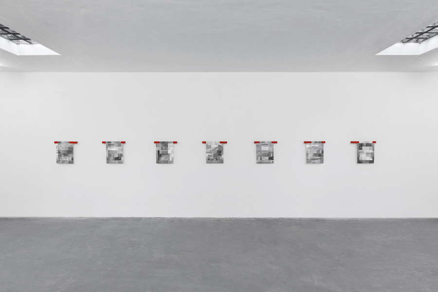 Gianni Ferrero Merlino - Progetto di Villa con Interno - Installation view - Giorgio Galotti Gallery, Turin -  photo credits: Sebastiano Pellion di Persano