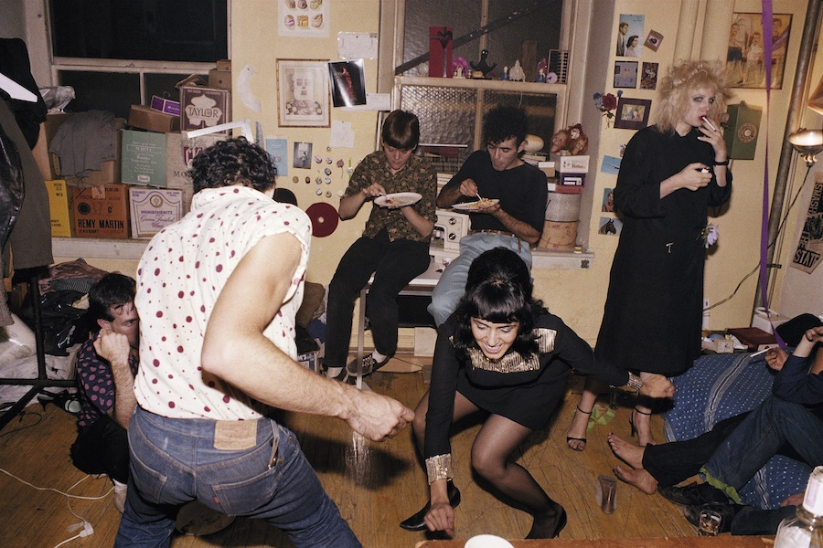 Nan Goldin The Ballad of Sexual Dependency -  Twisting at my birthday party, New York City 1980 © Nan Goldin