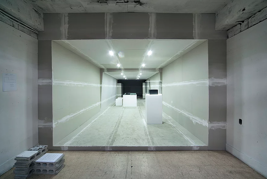Institute for Provocation, One More Time, Installation at Common Center, Seoul, Korea, 300 x 450 x 1600 cm. 2014