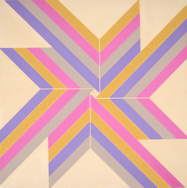 Elaine Lustig Cohen, Centered (1967), painting, dimensions unknown. Courtesy the artist, elainelustigcohen.com