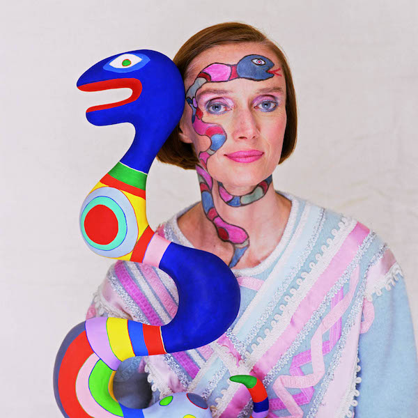Niki De Saint Phalle, 1983 copyright Norman Parkinson Ltd. courtesy Norman Parkinson Archive
