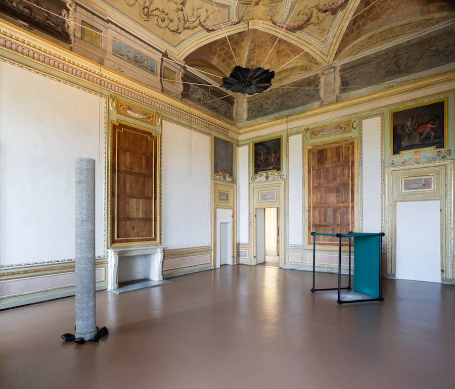 Gilberto Zorio, installation view at Castello di Rivoli, Photo by Renato Ghiazza