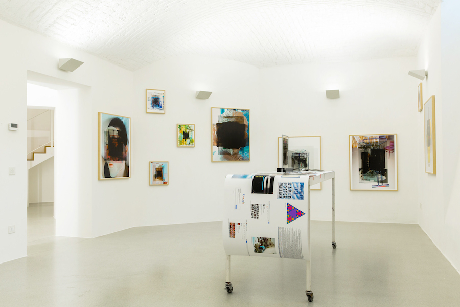Alessandro Calabrese -  Impasse, courtesy Viasaterna - Installation view