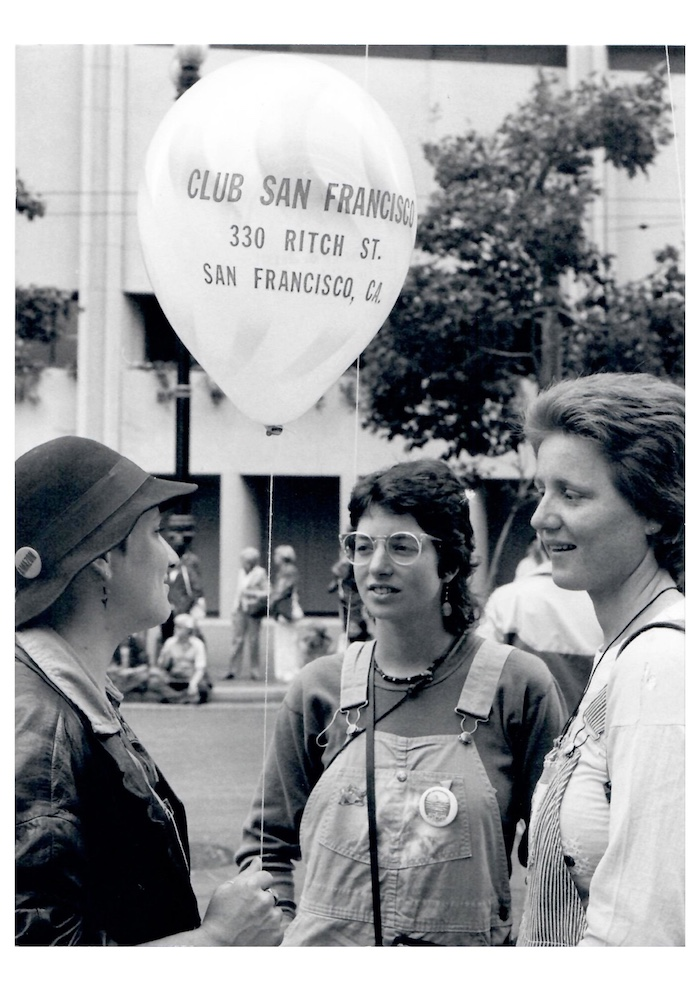 Gay Parade San Francisco  1981 First published in the German feminist Magazine EMMA May 1981, No. 5 Courtesy of the Estate of Vera Isler and Balzer Projects