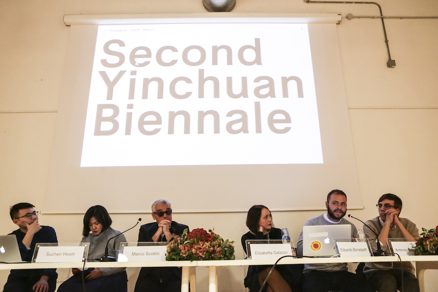 2°  Yinchuan Biennale — Starting from the Desert. Ecologies on the Edge - Conferenza Stampa - Foto Alessandra Di Consoli