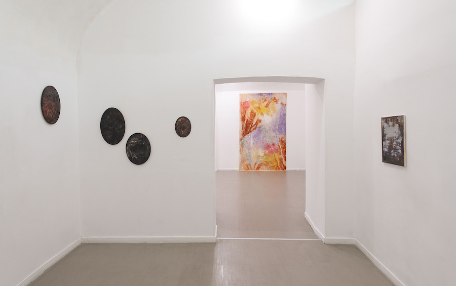 Moto ondoso stabile, 2017 - installation view, room 2- z2o Sara Zanin Gallery, Roma - Courtesy: z2o Sara Zanin Gallery, Roma  - Ph. by Giorgio Benni