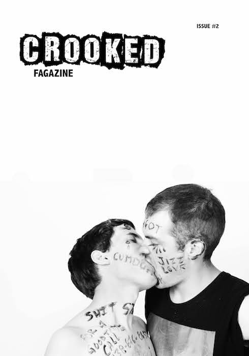 Cover of Crooked fagazine issue #2, Jordan Coulombe