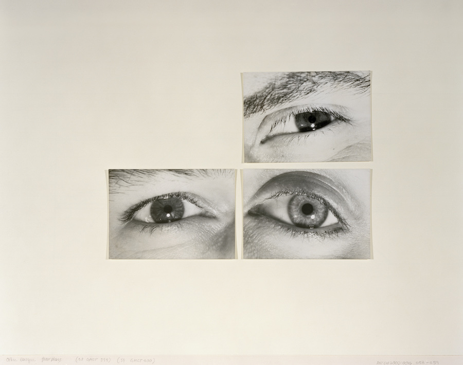 Stefano Graziani Gordon Matta-Clark, Eyes, 1970-1978, Gelatin silver prints, 12.6 x 17.7 (each image), PHCON2002:0016:012:050, Estate of Gordon Matta-Clark on deposit at the Canadian Centre for Architecture, © Estate of Gordon Matta-Clark / SIAE Montreal, 2017 Inkjet-print, 40 x 50 cm