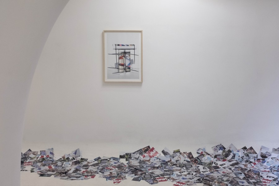 Jacopo Tomassini, Brain Draining - Galleria Ex Elettrofonica di Roma - Installation view