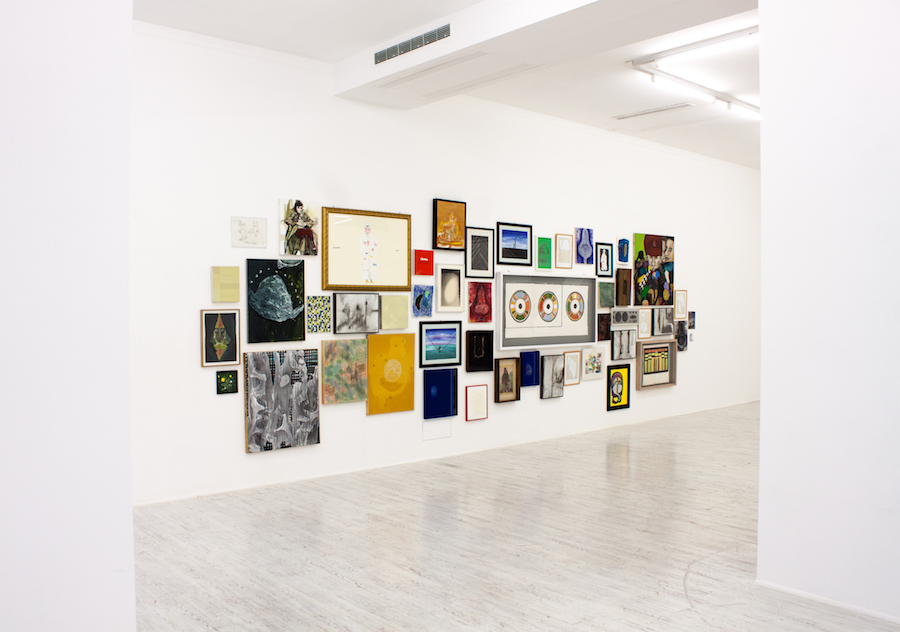 To bid or not to bid – contemporary curated - Installation view - Courtesy Galleria Thomas Brambilla, Bergamo