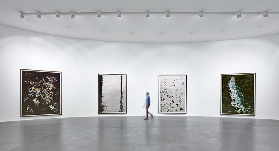 """Andreas Gursky: Bangkok"" Installation view at Gagosian Rome Artworks © Andreas Gursky/SIAE, Italy  Photo by Matteo D'Eletto"