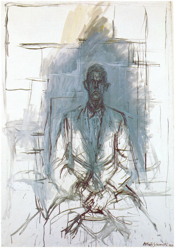 Alberto Giacometti - Portrait of James Lord, 1954