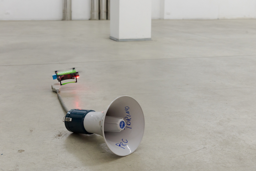 Like the sound of an Earthquake – Cassata Drone at Barriera Contemporanea, Torino