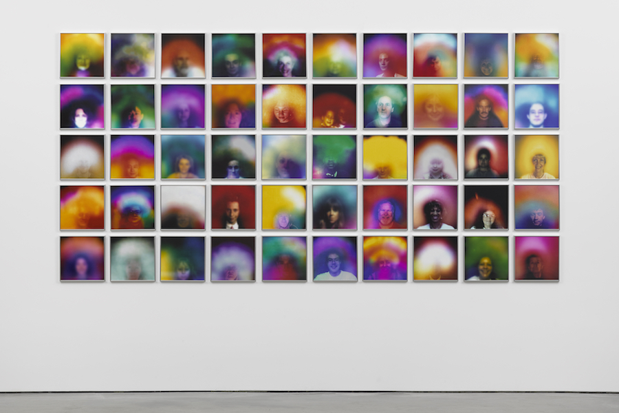 Susan Hiller, After Duchamp, 2016-2017, 50 colour archival dry prints, 30.5 x 30.5 cm (each). © Susan Hiller. Courtesy Lisson Gallery. Photography: Jack Hems.