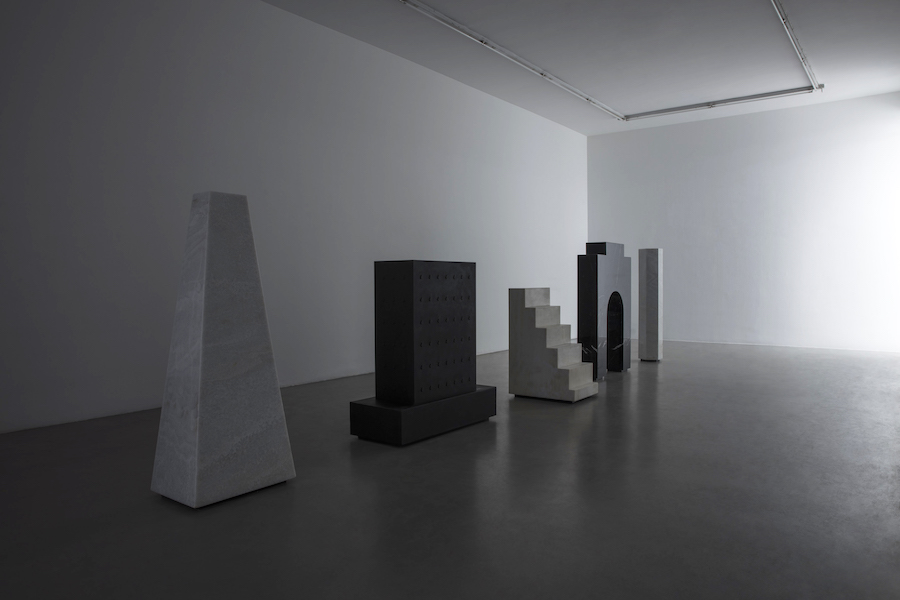 ALICE RONCHI MAJESTIC SOLITUDE Installation view at Francesca Minini, Milan