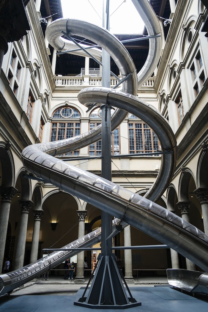 Carsten Höller - The Florence Experiment, 2018, Palazzo Strozzi, Firenze - Foto di Martino Margheri