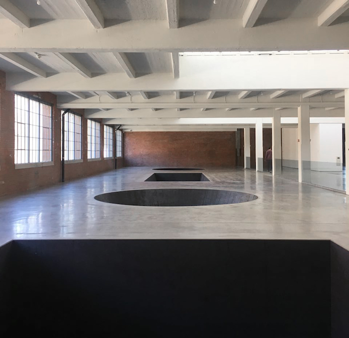 Michael Heizer, North, East, South, West, 1967/2002. Dia:Beacon, Dia Art Foundation. © Michael Heizer - Photo Joel Valabrega