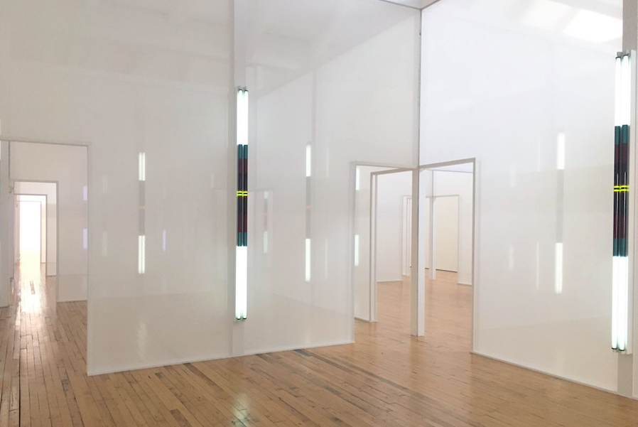Robert Irwin. Excursus: Homage to the Square³, 2998/99 Dia: Beacon, Dia Art Foundation. © Robert Irwin - Photo Joel Valabrega