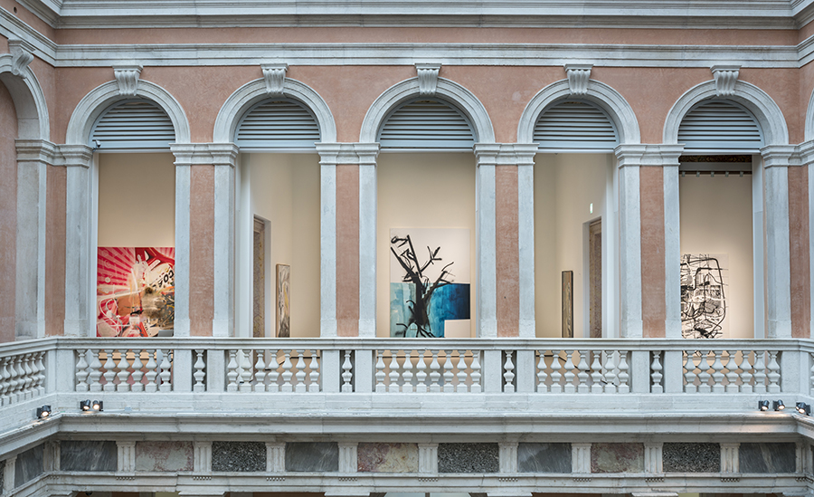 Installation view at Palazzo Grassi, 2018, © Palazzo Grassi, photography by Matteo De Fina
