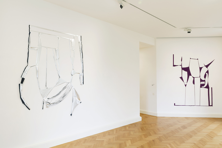 Marion Baruch and Alessandro Teoldi - Installation view - Courtesy Viasaterna, Milan